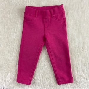 Gymboree toddler pink pants size 12-18 months